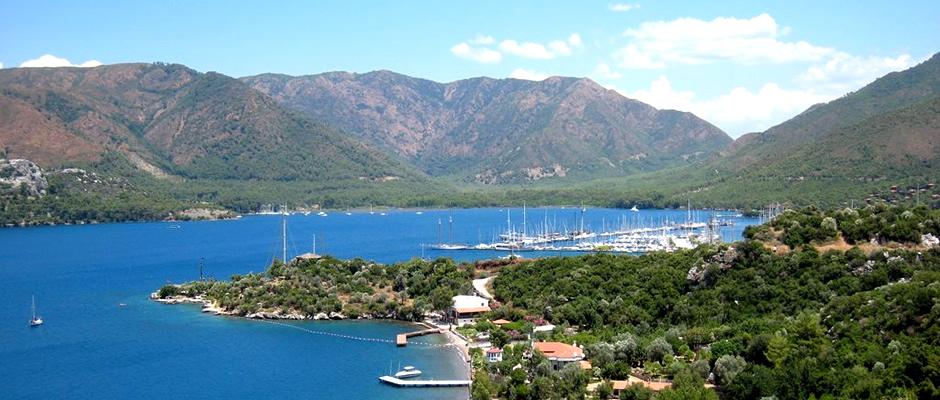 Marmaris Cennet Adası ve Yalancı Boğaz