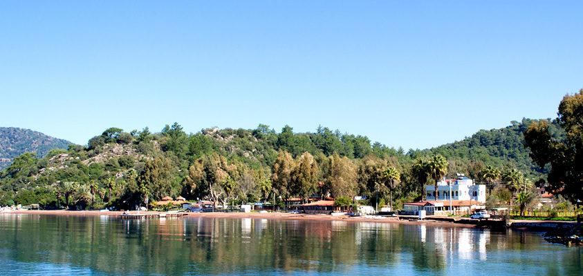 Marmaris Hisaronu Koyu ve Plajı