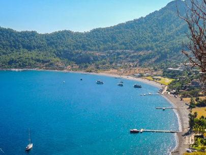 Marmaris Kumlubük Koyu ve Plajı
