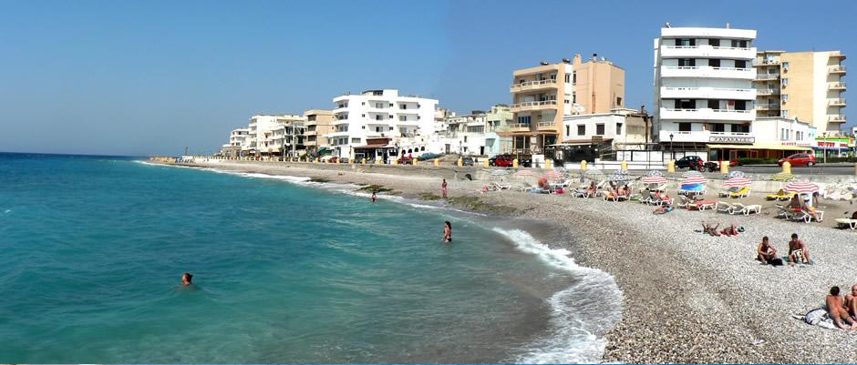 Rodos Adası Plajı