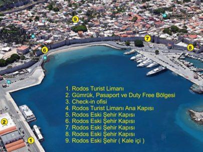 Rodos Adası Turist Limanı